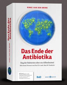 Buch: 'Das Ende der Antibiotika' von Rinke van den Brink